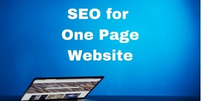 One page SEO